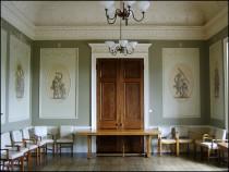 Former Breakfast Room of Allendale family