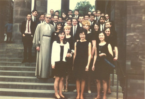 Capella Choir at Coventry - 58-4 on 2.6.68